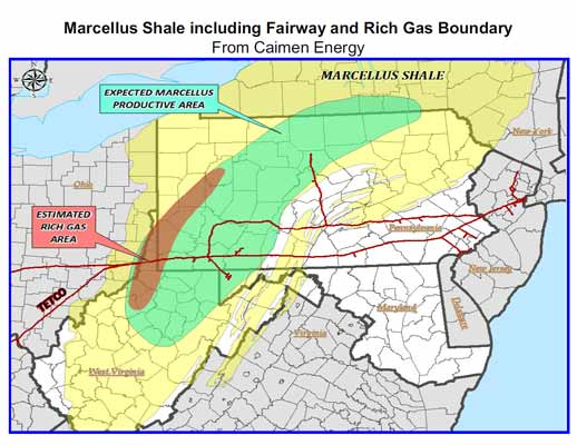 Information on the Marcellus Shale - WV Surface Owners' Rights